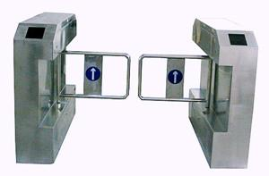 China Durable Automatic Systems Turnstiles Biometric With Led Direction Indicator on sale