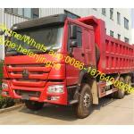 336hp 371hp 10 Wheel 30 Ton Rhd HOWO SINOTRUK Euro 2 Tipper Truck Dumper Truck 6x4