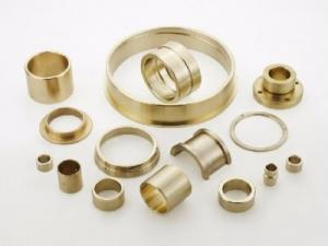 China Oil Grooved Cast Bronze Bushings , Self Lubricating Bearing Corrosion Resistance on sale