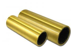 China Bronze Powder Metal Motor Shaft Bushing Chrome Plating With 0.01 Tolerance on sale
