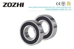 China 6206 2rs Ac Generator Parts Deep Groove Ball Bearing Rubber Coated For Pump on sale
