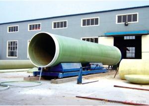 China Fiberglass Pipes Pass ISO9001/FRP Pipe for Water  FRP Pipe with Anti-Corrosion on sale
