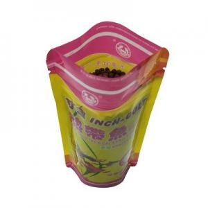 China High class AAA grade recyclable fish baits plastic packaging bag with zipper on sale