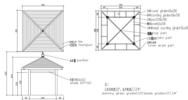Square gazebo plans olda 6001 13ft 13ft 12ft ec91069238 for Gazebo construction details