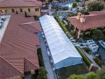 Emergency Hospital Tents 200 Beds One Tent Fast Build A Frame Shape Stable