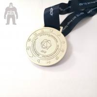 3d Antique Metal Gold Medals Sports  Athletic Running Awarded 2mm  Thickness