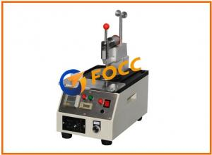China Automated Fiber Optic Polishing Machine For Dual APC and PC Polish Connectors on sale