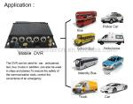 High Definition 4G Mobile DVR With GPS , Automotive Dvr Recorder 4 Channel Industrial Level