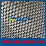 tela eletricamente condutora da fibra do carbono