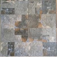 Non Slip Matt  Rustic 400x400 Ceramic Floor Tiles Anti Corrosion Heat Resistant