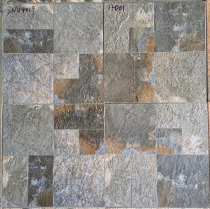 China Non Slip Matt  Rustic 400x400 Ceramic Floor Tiles Anti Corrosion Heat Resistant on sale