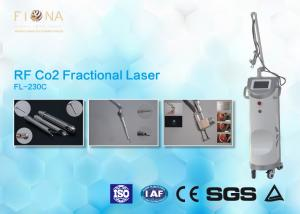 China Scar Removal Co2 Fractional Laser Machine Metal RF Tube CE Certification on sale