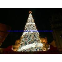 China Artificial christmas tree Christmas decoration tree LED Light Motif on sale