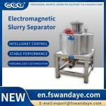 Manual Magnetic Separator Machine Magnetic Roll Separator For Feldspar kaolin ceramic slurry