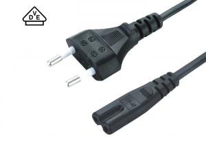China 2 Prong Laptop European Power Cord Plug For Adapter Power Supply Charger on sale