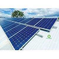 China Saving Time Solar Panel Mounting Systems High Efficient Installation For Tin Roof on sale