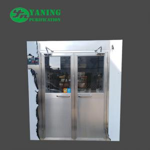 China Double Door Cleanroom Air Shower Fully Automatic Control 1500*2000*2050mm on sale