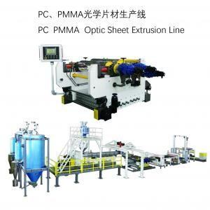 China JWELL PMMA/GPPS plate sheet production extrusion line on sale