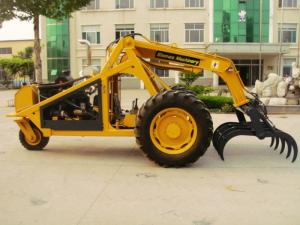 China 3 wheel sugar cane loader on sale