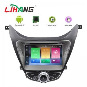 China I35 Android 8.0 Hyundai Car DVD Player Dashboard With Steering Wheel Control on sale