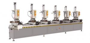 China Aluminium Window Multi Spindle Drilling Machine/ Aluminum Window Making Machine Six Head Drilling Machine on sale