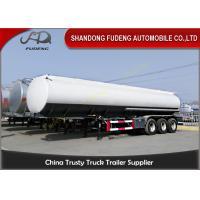 China Transport chemical liquids Fuel Tanker Semi Trailer 45000 Liters 6 cabins on sale