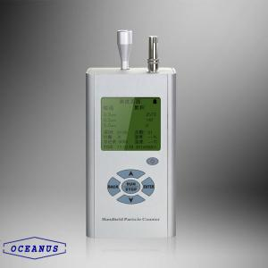 China OC-400 Three channels portable particle detector with the size from 0.3μm~10μm on sale