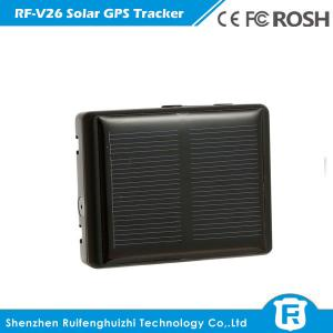 China reachfar rf-v26 smallest mini solar powered gps tracker for cow/sheep with sos alarm, two on sale