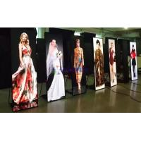 China High Definition Poster Light Box Displays P2.571mm 1944x576x35mm on sale