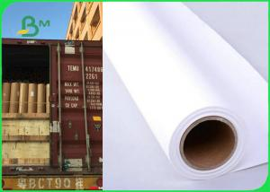 China 36 Inch × 150m 80gsm Plotter Paper Roll For Canon Printer Good Print Performance on sale