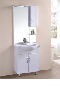 China European Bathroom Single Sink Cabinet Saudi Arabia Modern Free Standing Bathroom Cabinet on sale