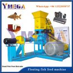 Dry Type and Wet Type Extruding Machine for Floating Fish Feed Production