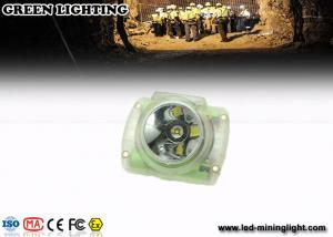 China 1W 300mA Coal Mining Lights , Miners Head Torch 6h charging time rechargeable li battery on sale