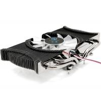 80mm low noise VGA Coolers for NVIDIA Geforce 6600 , CE ROHS Approvals