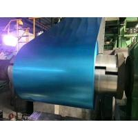 Blue Tinted Anti - Finger Print Hot Dipped Galvalume Steel Coil Thickness+/-0.01mm