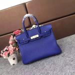 full hand made ladies calfskin handbags 30cm 35cm blue designer handbags women luxury handbags famous brand handbags