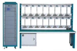 China Three phase energy meter test bench with 24 32 40 meter position , Customized on sale