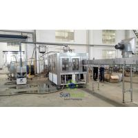 High Speed Stainless Steel  Filling Machine Juice Production Line