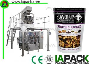 China Automatic Nuts Doypack Packing Machine With Zipper on sale