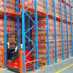 Warehouse Storage FIFO Drive In Drive Through Racking System