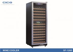 China High Capacity Glass Wine Refrigerators Digital LED Control Low E Glass on sale