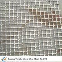 China Crimped Wire Mesh|Woven Wire Mesh With Square or Rectangle Opening on sale