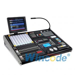 China Led Dmx Controller 2048 Channels / Stage Light Controller For Pearl Fixture Library on sale
