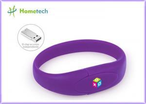 China Wrist Band Pen Drive Promotion Wristband Usb Flash Drive Custom Logo Print on sale