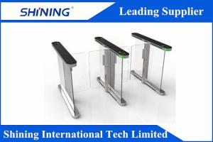 China High Speed Barcodes System Supermarket Swing Gate With Problem-Self-Checking on sale