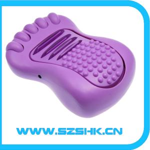 China 2012 new design smart health mate vibrating foot massager machine on sale