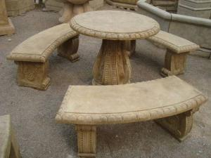 China stone garden table on sale