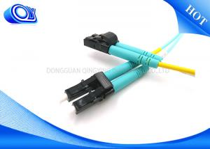 China LC Duplex Multimode Fiber Optic Patch Cord Cable Factory FTTH  FTTX on sale
