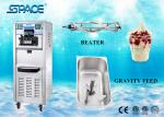 Floor Standing Single Flavor Ice Cream Machine , Commercial Grade Ice Cream Maker