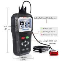 China Portable 12 Volt Live Data Scanner Diagnostic Tool 6 Languages  CE FCC Approved on sale